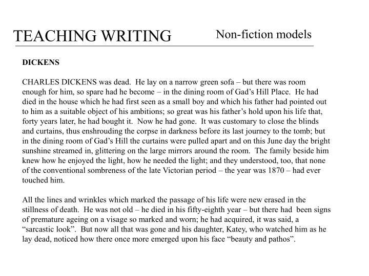 Non-fiction models