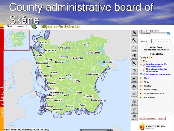 County administrative board of Skåne