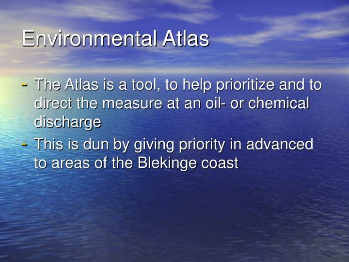 Environmental Atlas