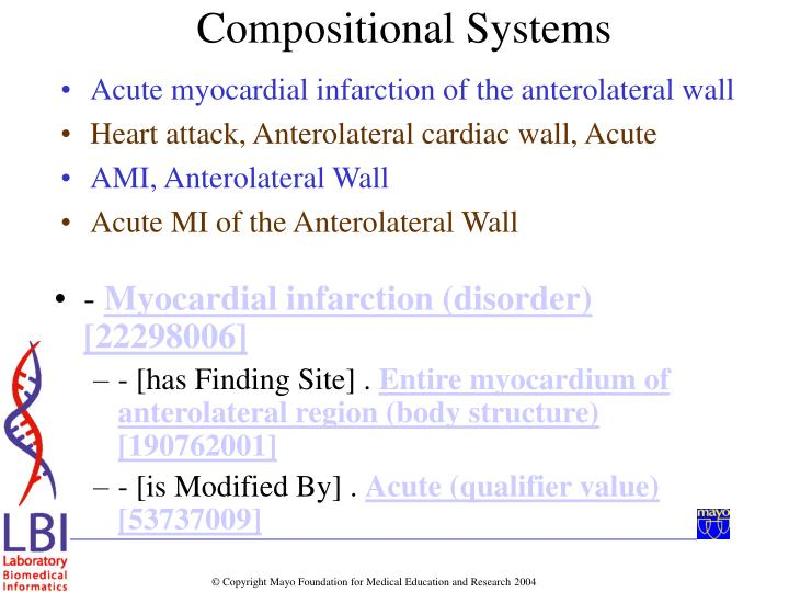 Acute myocardial infarction of the anterolateral wall