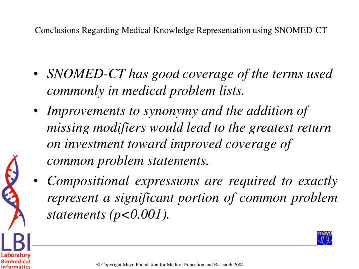 SNOMED-CT has good coverage of the terms used commonly in medical problem lists.