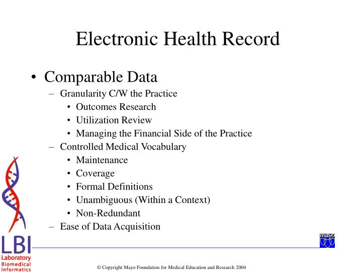 Comparable Data