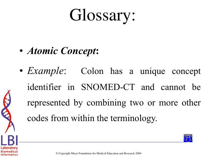 Atomic Concept
