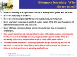 biomass burning why do we care