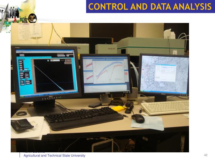 CONTROL AND DATA ANALYSIS