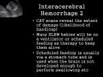interacerebral hemorrhage 2