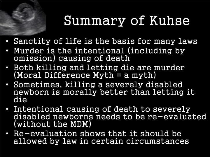 Summary of Kuhse