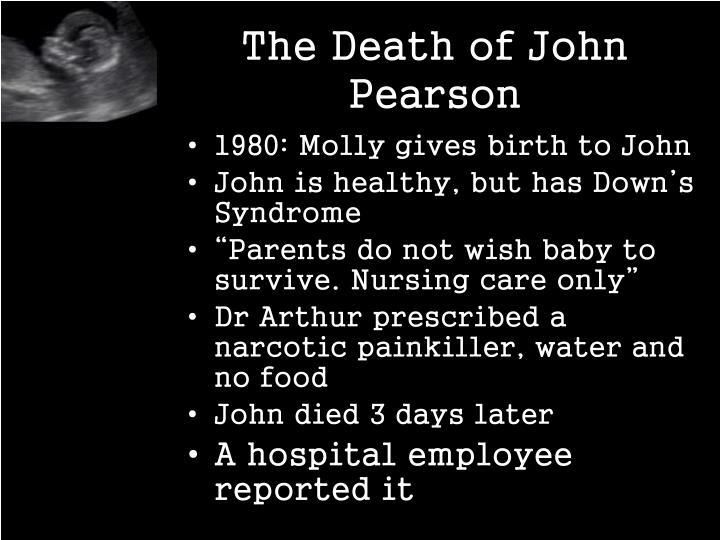 The Death of John Pearson