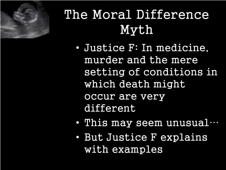 The Moral Difference Myth