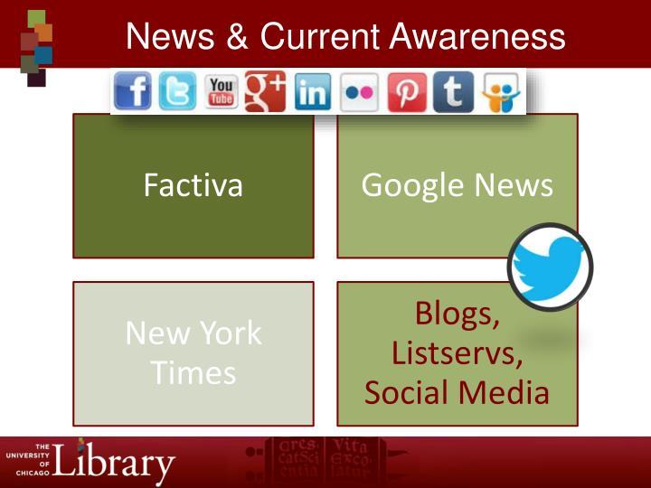 News & Current Awareness