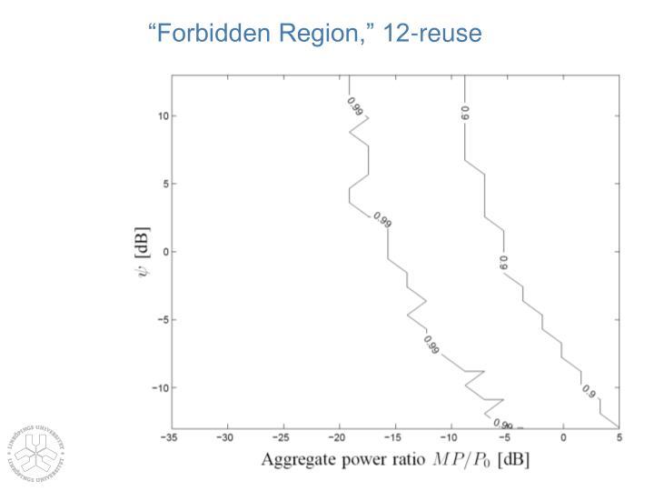 """""""Forbidden Region,"""" 12-reuse"""