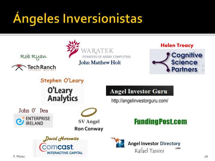 Ángeles Inversionistas