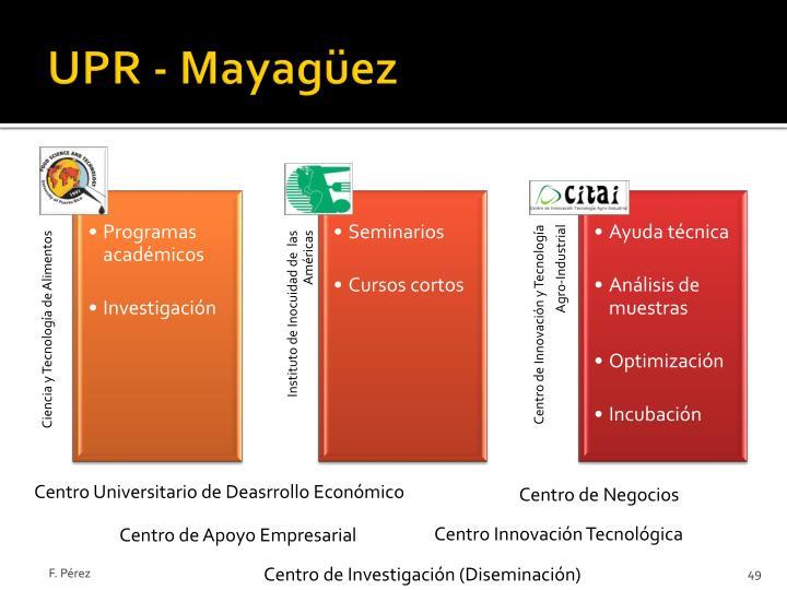 UPR - Mayagüez