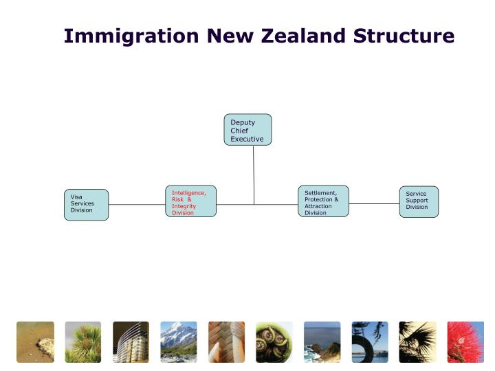 Immigration New Zealand Structure