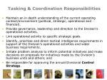 tasking coordination responsibilities