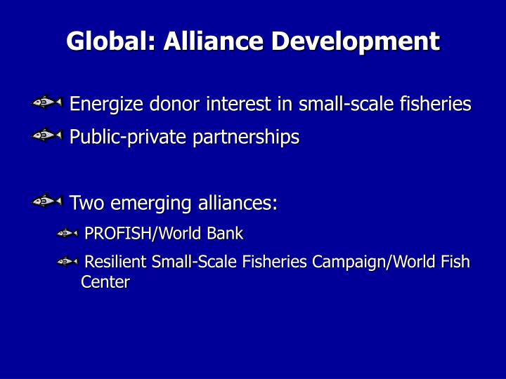 Global: Alliance Development