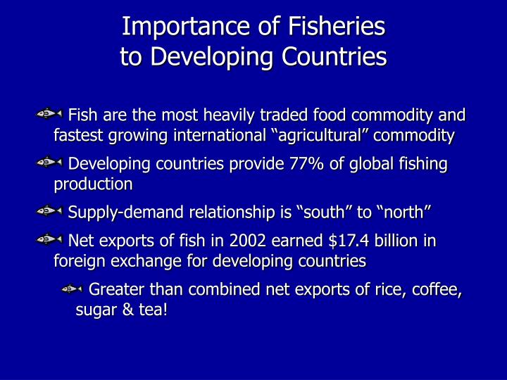Importance of Fisheries