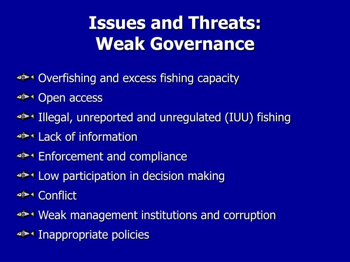 Issues and Threats: