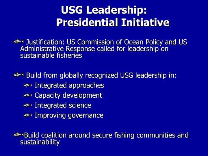 USG Leadership: