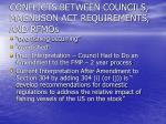 conflicts between councils magnuson act requirements and rfmos2