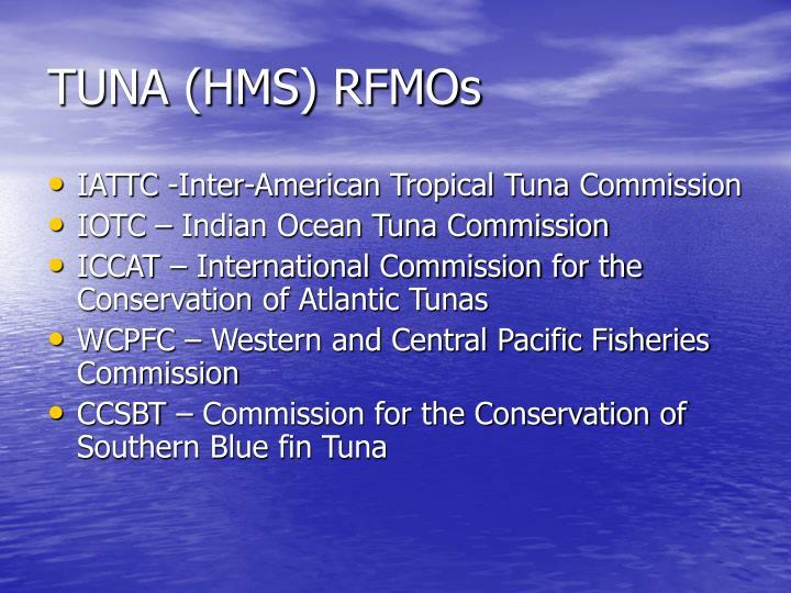 TUNA (HMS) RFMOs