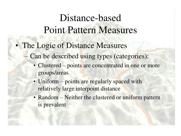 Distance-based