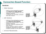 connection based function1