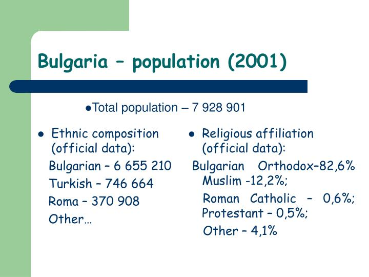 Ethnic composition (official data):