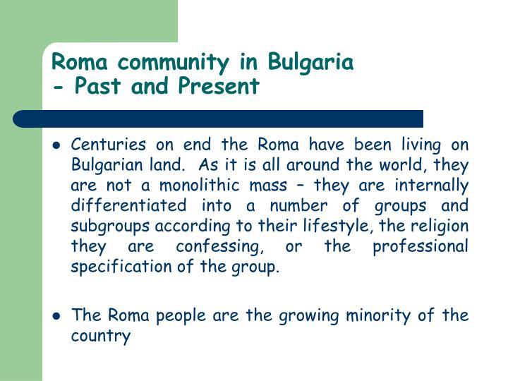 Roma community in Bulgaria