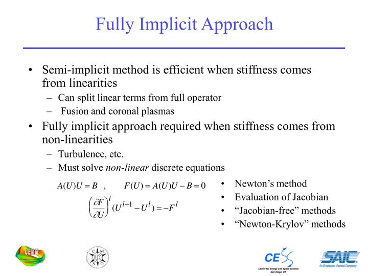 Fully Implicit Approach