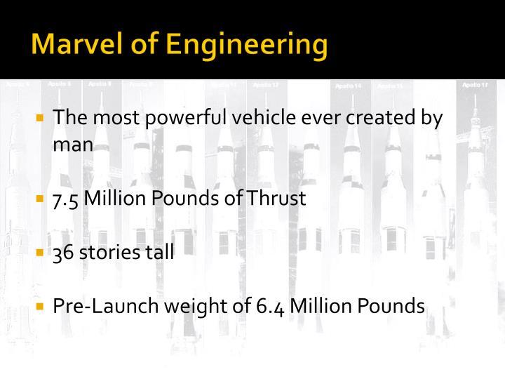 Marvel of Engineering