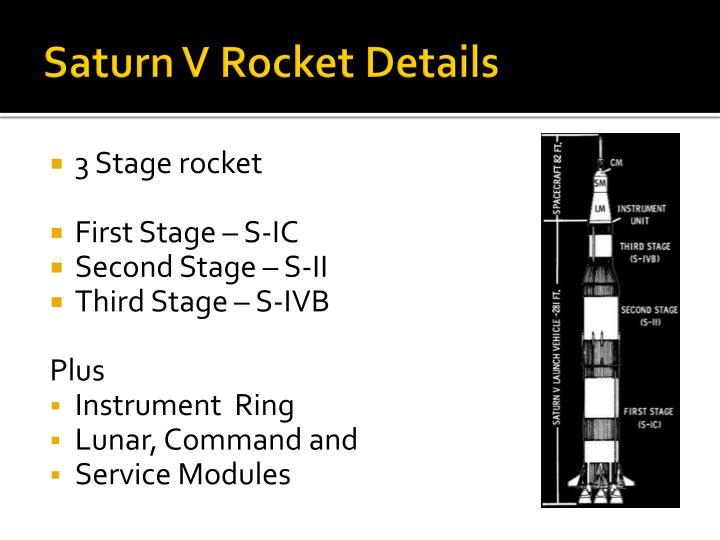 Saturn V Rocket Details