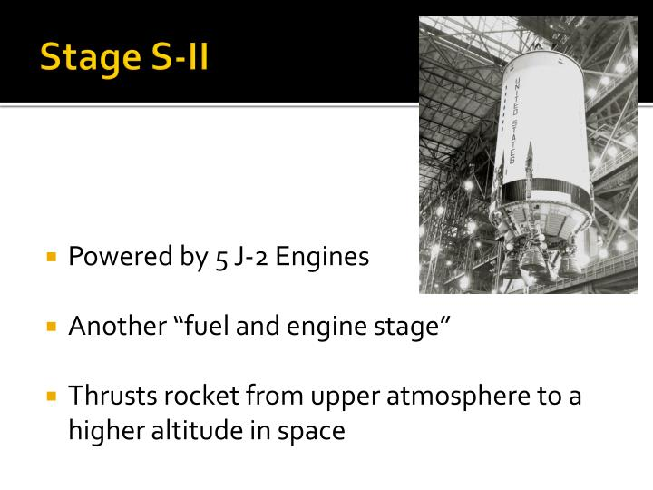Stage S-II