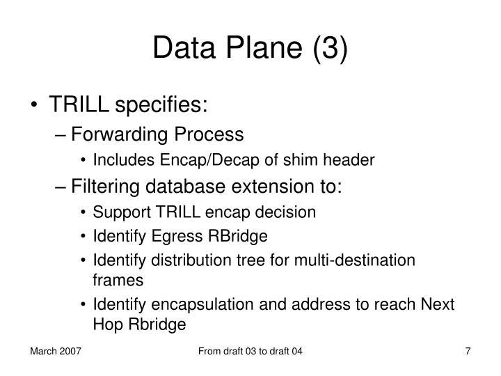 Data Plane (3)