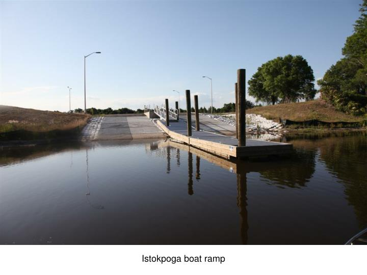 Istokpoga boat ramp