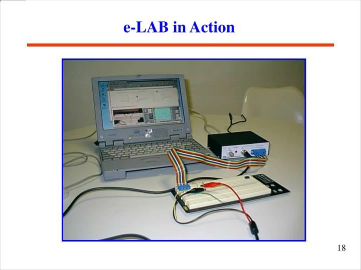 e-LAB in Action