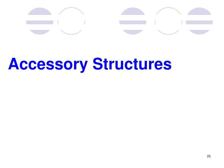 Accessory Structures