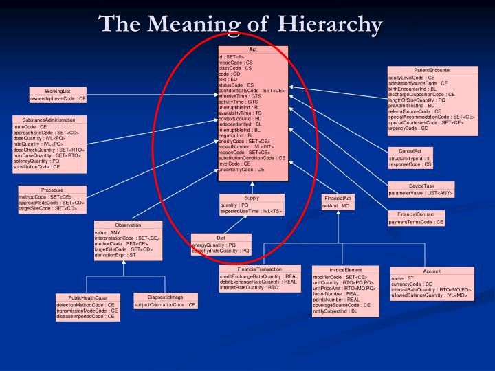 The Meaning of Hierarchy