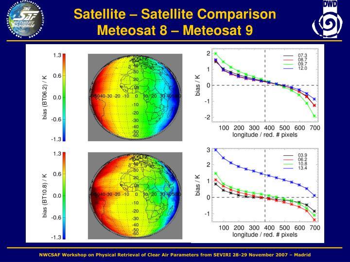 Satellite – Satellite Comparison