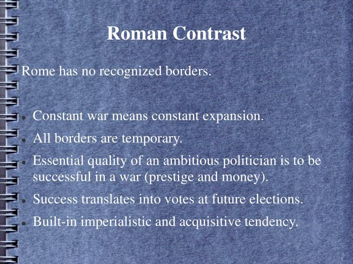 Roman Contrast