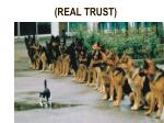 real trust