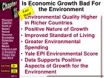 is economic growth bad for the environment