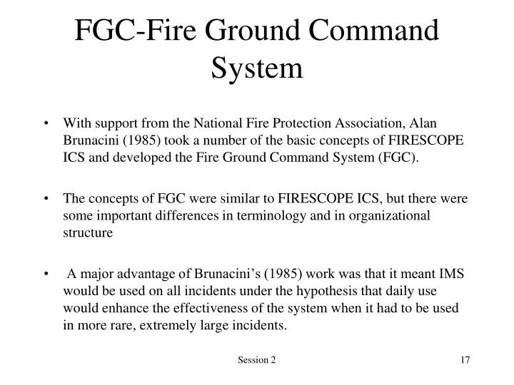 FGC-Fire Ground Command System