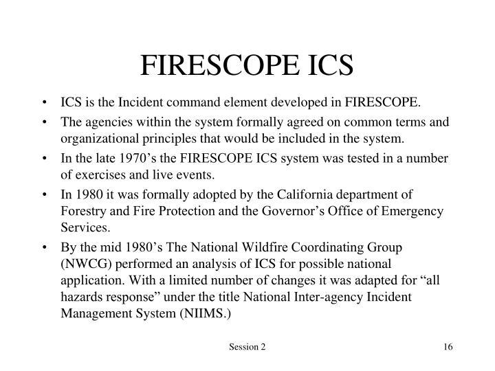 FIRESCOPE ICS