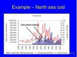 example north sea cod