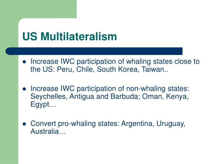 US Multilateralism