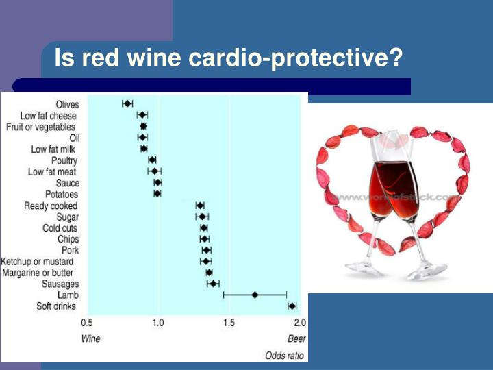 Is red wine cardio-protective?