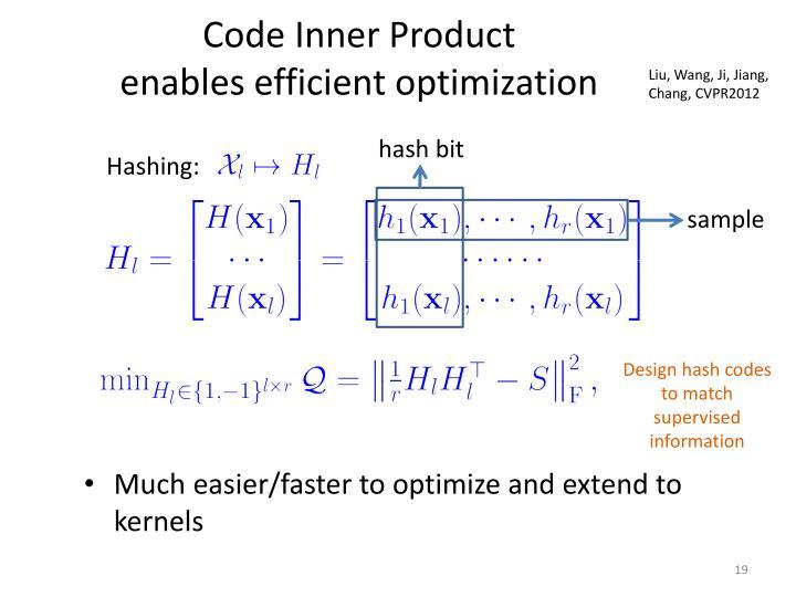 Code Inner Product