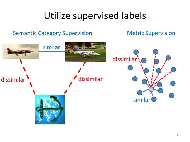Utilize supervised labels