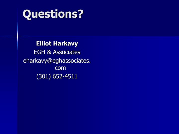 Elliot Harkavy